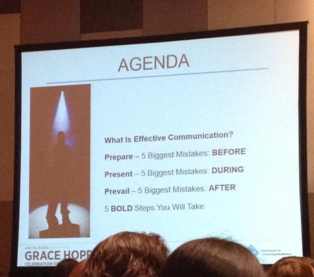 Agenda for the workshop.